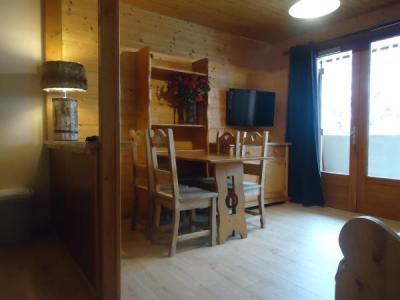 Location au ski Studio cabine 4 personnes (1724) - Residence La Duche - Le Grand Bornand - Coin repas