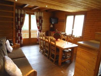 Soggiorno sugli sci Appartamento su due piani 4 stanze con cabina per 7 persone (1652) - Résidence la Duche - Le Grand Bornand - Soggiorno