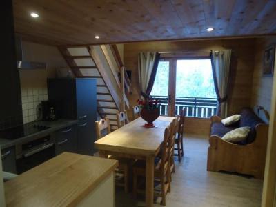 Location au ski Appartement 2 pièces mezzanine 5 personnes (1653) - Residence La Duche - Le Grand Bornand - Séjour