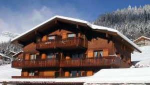 Location au ski Appartement 2 pièces mezzanine 6 personnes (1722) - Residence La Duche - Le Grand Bornand - Extérieur hiver
