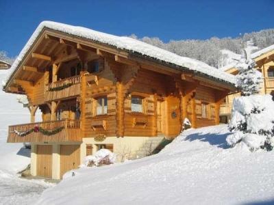 Holiday in mountain resort 5 room chalet 10 people - Résidence la Pointe Percée - Le Grand Bornand - Winter outside