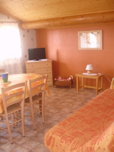 Location au ski Appartement 2 pièces cabine 5 personnes (601) - Residence La Source - Le Grand Bornand - Séjour