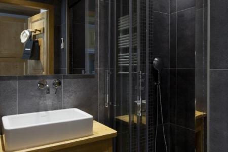Location au ski Studio 4 personnes (006) - Residence Le Danay - Le Grand Bornand - Salle d'eau