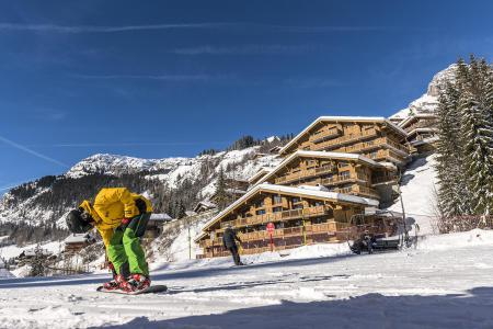 Rental Le Grand Bornand : Résidence le Roc des Tours winter