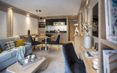 Rent in ski resort Résidence le Roc des Tours - Le Grand Bornand - Bench seat