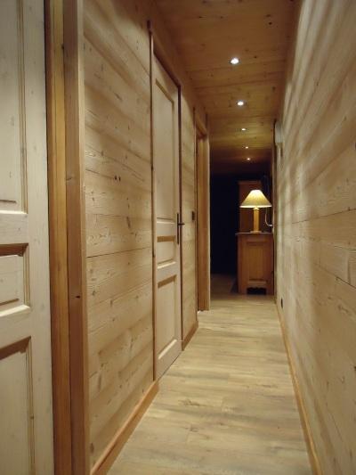Location au ski Appartement 2 pièces 4 personnes (1723) - Residence Le Tardevant - Le Grand Bornand - Couloir