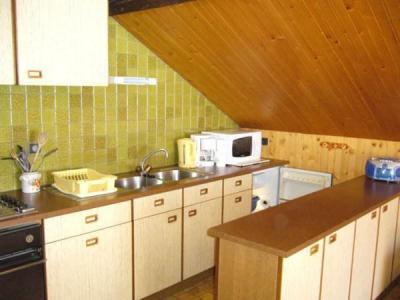 Location au ski Appartement 2 pièces 5 personnes (002) - Residence Le Vieux Noyer - Le Grand Bornand - Cuisine