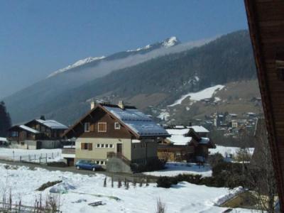 Location au ski Appartement 2 pièces 5 personnes (002) - Residence Le Vieux Noyer - Le Grand Bornand - Extérieur hiver