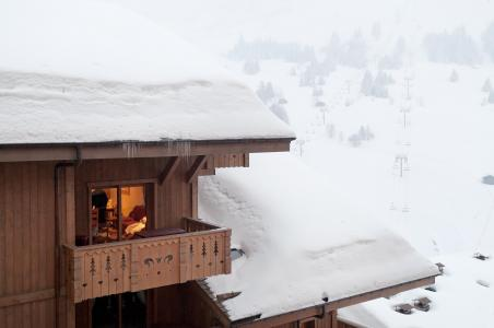 Vacances en montagne Résidence le Village de Lessy - Le Grand Bornand - Extérieur hiver