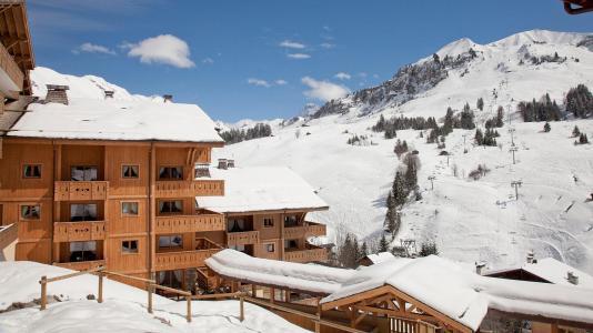 Location au ski Résidence le Village de Lessy - Le Grand Bornand - Extérieur hiver