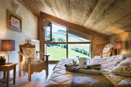 Rent in ski resort Résidence le Village de Lessy - Le Grand Bornand - Bedroom