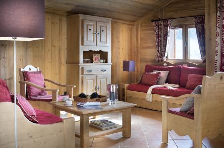Location au ski Résidence le Village de Lessy - Le Grand Bornand - Coin séjour