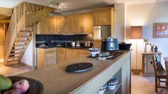 Rent in ski resort Résidence le Village de Lessy - Le Grand Bornand - Kitchen