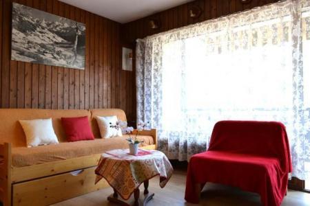 Location au ski Studio coin montagne 4 personnes (419) - Residence Les Arces - Le Grand Bornand - Canapé
