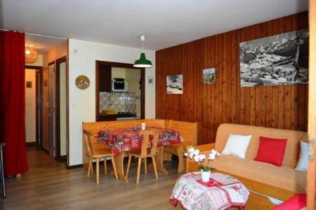Location au ski Studio coin montagne 4 personnes (419) - Residence Les Arces - Le Grand Bornand - Séjour