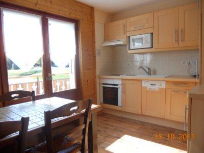 Location au ski Appartement 2 pièces 5 personnes (313) - Residence Les Cossires - Le Grand Bornand - Cuisine ouverte