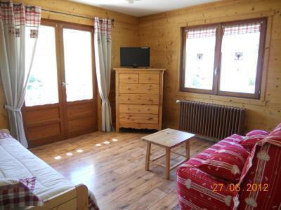 Location au ski Appartement 2 pièces 5 personnes (313) - Residence Les Cossires - Le Grand Bornand - Séjour