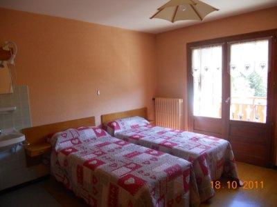 Location au ski Appartement 3 pièces 6 personnes (315) - Residence Les Cossires - Le Grand Bornand - Lit simple