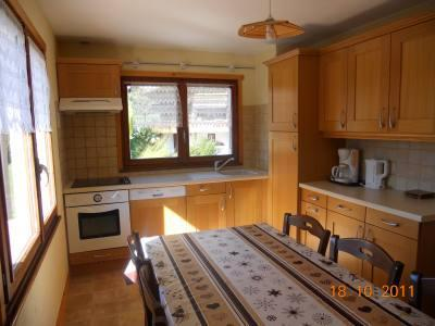 Location au ski Appartement 3 pièces 6 personnes (315) - Residence Les Cossires - Le Grand Bornand - Salle à manger