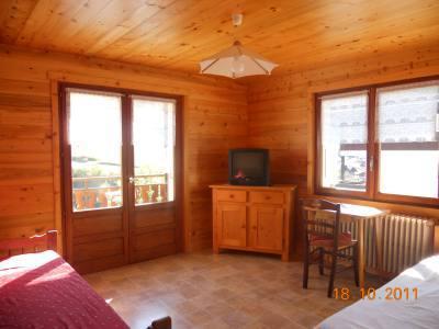 Location au ski Appartement 3 pièces 6 personnes (315) - Residence Les Cossires - Le Grand Bornand - Séjour