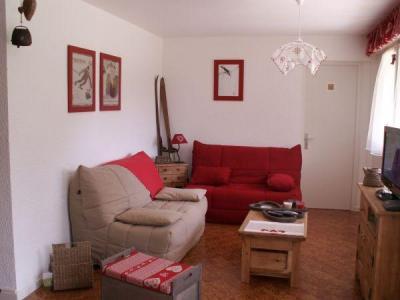 Location au ski Appartement 3 pièces 6 personnes (001) - Residence Les Dodes - Le Grand Bornand - Séjour