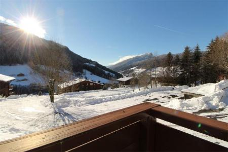 Rent in ski resort Studio cabin 4 people (0A) - Résidence les Mélèzes - Le Grand Bornand