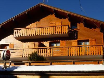 Location au ski Appartement 3 pièces 6 personnes (001) - Residence Les Tilleuls - Le Grand Bornand - Extérieur hiver