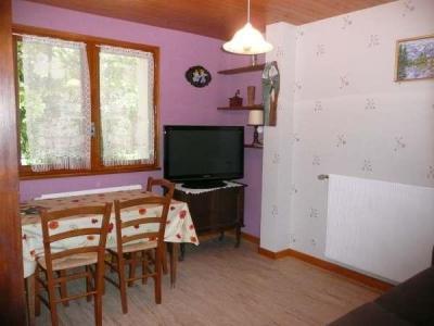 Location au ski Appartement 2 pièces 4 personnes (002) - Residence Lou R'bat Pays - Le Grand Bornand - Tv satellite