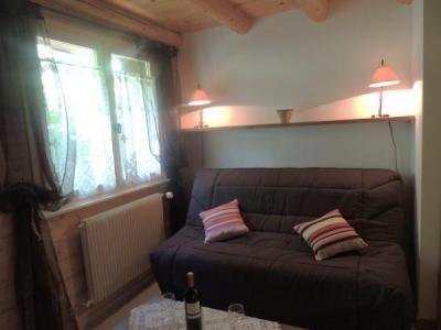 Location au ski Appartement duplex 2 pièces 6 personnes (003) - Residence Lou R'bat Pays - Le Grand Bornand - Canapé-lit