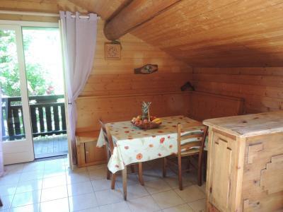 Location au ski Appartement duplex 2 pièces 6 personnes (003) - Residence Lou R'bat Pays - Le Grand Bornand - Coin repas