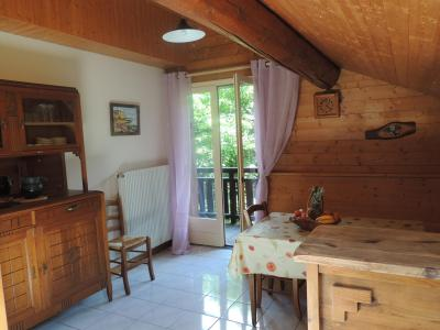 Location au ski Appartement duplex 2 pièces 6 personnes (003) - Residence Lou R'bat Pays - Le Grand Bornand - Table