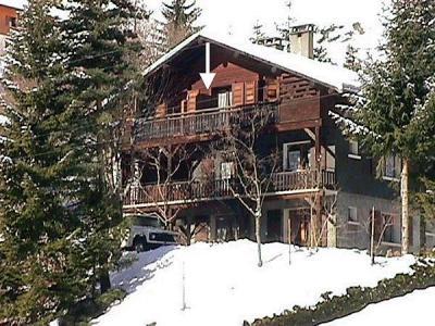 Location au ski Studio cabine 4 personnes (001) - Residence Lou R'bat Pays - Le Grand Bornand - Extérieur hiver