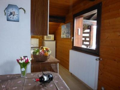 Location au ski Studio cabine 4 personnes (001) - Residence Lou R'bat Pays - Le Grand Bornand - Fenêtre