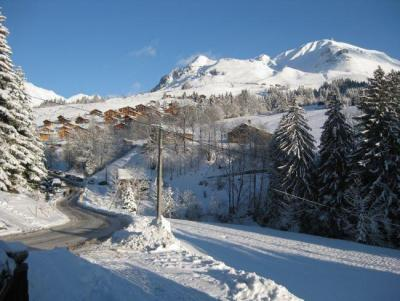 Holiday in mountain resort 3 room apartment 6 people - Résidence Saint Olivier - Le Grand Bornand - Winter outside