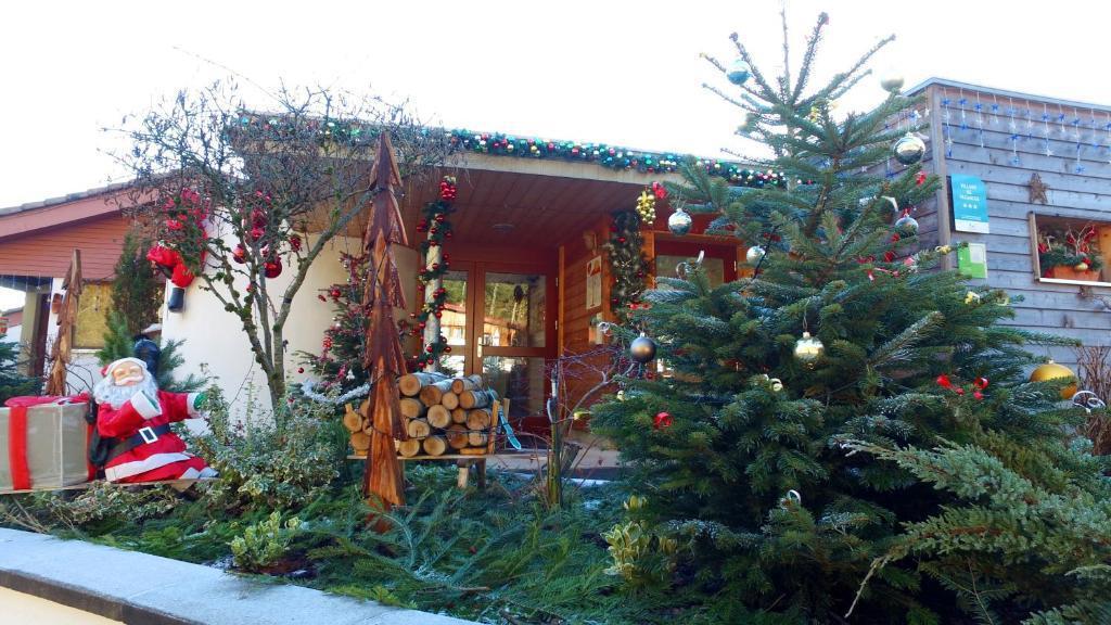 Vacanze in montagna VVF Villages les Fontaines des Vosges - Le Lac Blanc - Esteriore inverno