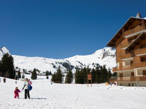 Location au ski Residence Maeva Les Mouflons I Et Ii - Le Praz de Lys - Extérieur hiver