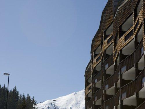 Каникулы в горах Résidence Pierre & Vacances les Mouflons I et II - Le Praz de Lys - зимой под открытым небом