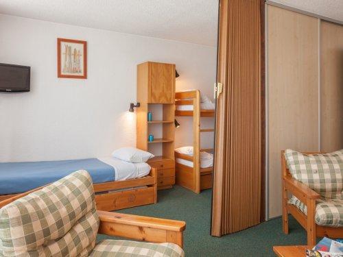 Location au ski Résidence Pierre & Vacances les Mouflons I et II - Le Praz de Lys - Coin séjour