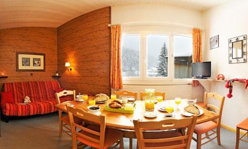 Location au ski Vvf Villages La Valserine - Lelex - Table
