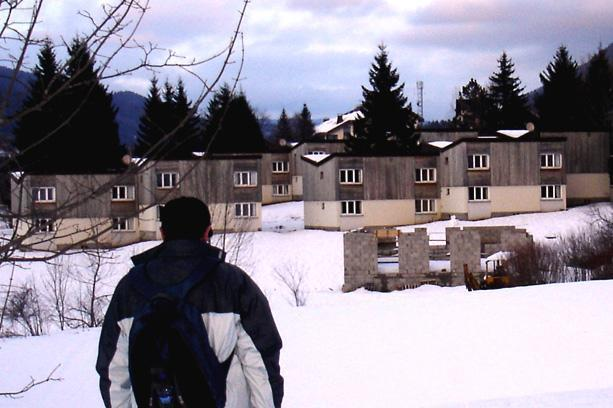 Location au ski Vvf Villages La Valserine - Lélex - Extérieur hiver