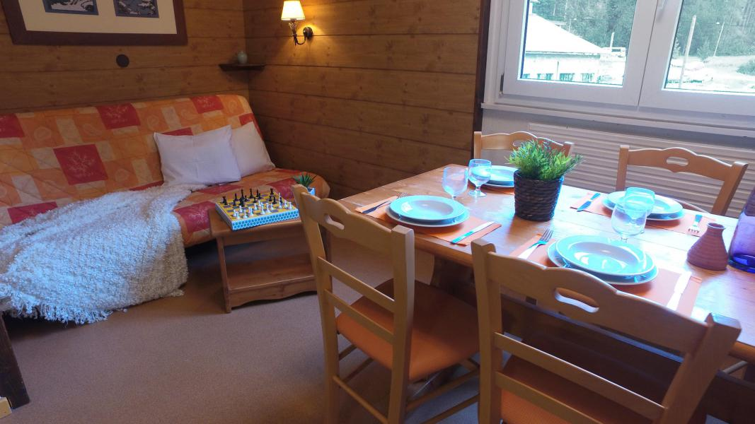 Location au ski VVF Villages les Monts du Jura - Lélex - Salle à manger