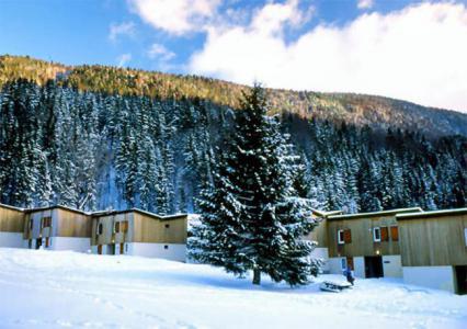 Location au ski VVF Villages les Monts du Jura - Lélex - Extérieur hiver