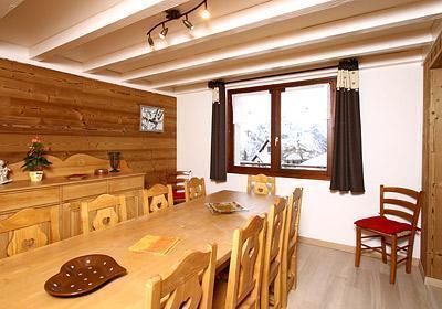 Location au ski Chalet 8 pièces 16 personnes - Chalet Alpina - Les 2 Alpes - Salle à manger