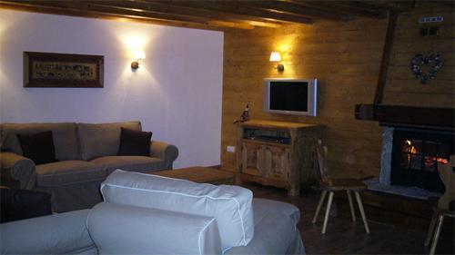 Location au ski Chalet mitoyen 6 pièces 12 personnes - Chalet De Marie - Les 2 Alpes - Séjour