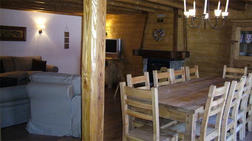 Location au ski Chalet mitoyen 6 pièces 12 personnes - Chalet De Marie - Les 2 Alpes - Table