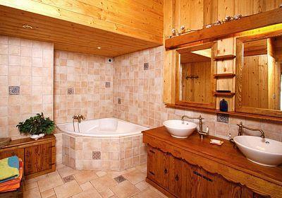 Location au ski Chalet mitoyen 5 pièces 12 personnes - Chalet Harmonie - Les 2 Alpes - Salle de bains
