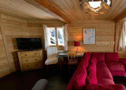 Location au ski Chalet 7 pièces 18 personnes - Chalet La Muzelle - Les 2 Alpes - Canapé