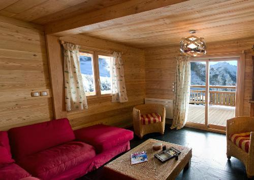 Location au ski Chalet 7 pièces 18 personnes - Chalet La Muzelle - Les 2 Alpes - Séjour