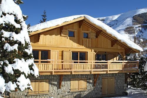 Ski en mars Chalet La Muzelle