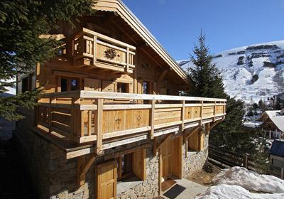 Accommodation Chalet Les Alpages